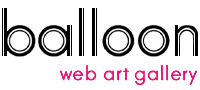 Web Art Gallery balloon